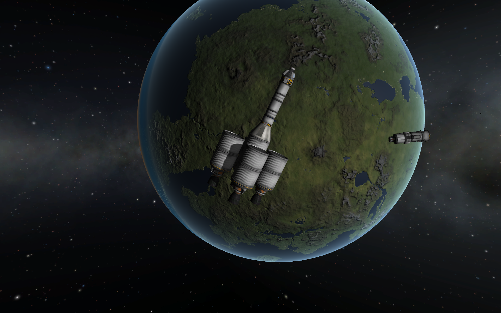 Kerbal Space Program is for amazing screen shots ...